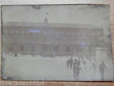 Vecchia foto d epoca fotografia antica PIAZZA PLEBISCITO NAPOLI inizi 900 reale