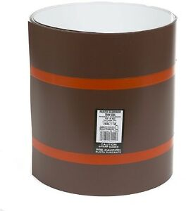 Roll Flashing Reversible Brown And White Finish Aluminum