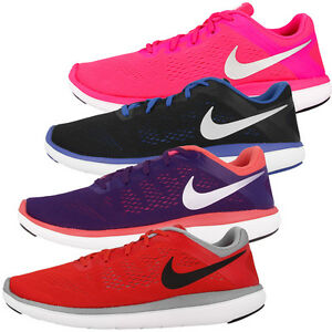 NIKE-Flex-2016-Run-GS-Scarpe-Scarpe-Da-Corsa-Sport-Tempo-Libero-Sneaker-Roshe-ONE-FREE