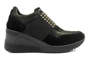 IGIeCO-4143033-Nero-Sneakers-Scarpe-Donna-Calzature-Casual