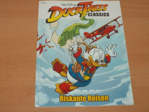 "DUCK-TALES CLASSICS Band 4 /""Riskante Reisen/"" NEUWERTIG!"