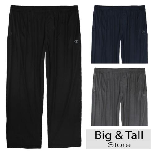 Big Men/'s Champion Vapor Tech Athletic PANTS 3XL 4XL 5XL 6XL Moisture Wicking