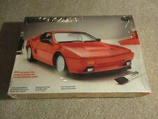 Testors Nissan Mid4 Mid 4 1/24 Scale Model Kit Complete Unbuilt 1987