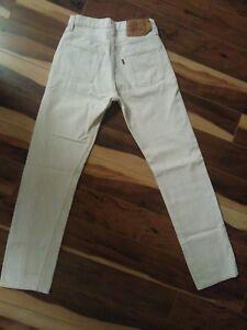 Blanc Femmes Levi 501 Vintage Jeans q1FT1fw