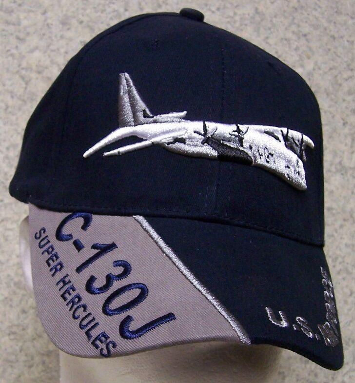 Embroidered Baseball Cap Military Super Airplane C-130J Super Military Hercules NEW 1 fits all c470ed