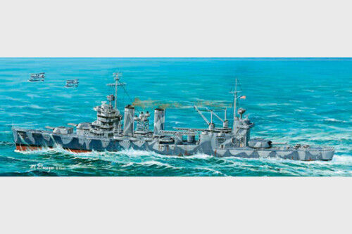 Trumpeter USS Cruiser CA-37 Tuscaloosa 05745 1 700 Scale Plastic Static Model