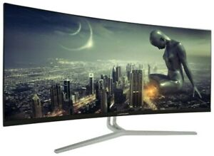 "LC-Power 34"" UWQHD 3440x1440 100 Hz 300 cd/m² Adaptive Sync / FreeSync"
