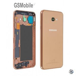 Tapa-Trasera-Battery-Cover-Power-NFC-Gold-Samsung-Galaxy-J4-Plus-J415F-ORIGINAL
