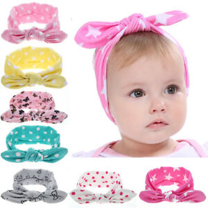 Clever Newborn Baby Headwear Hair Accessories Ear Elastic Headband For Girls Knot Bandage Hairband Turban Headbands Headwrap Outdoor Hair Accessories