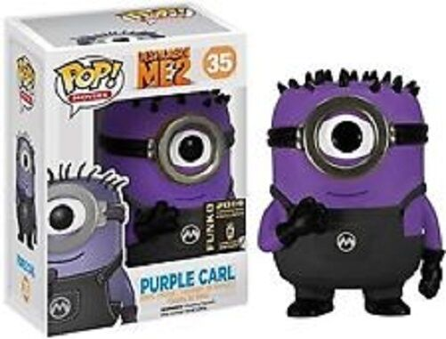 FUNKO POP MOVIES DESPICABLE ME 2  35 lila CARLSDCC 2014 EXCLUSIVE VINYL