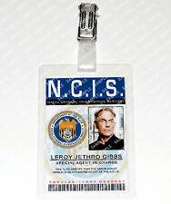 NCIS Leroy Jethro Gibbs ID Badge/Card Special Agent Cosplay Costume Comic Con