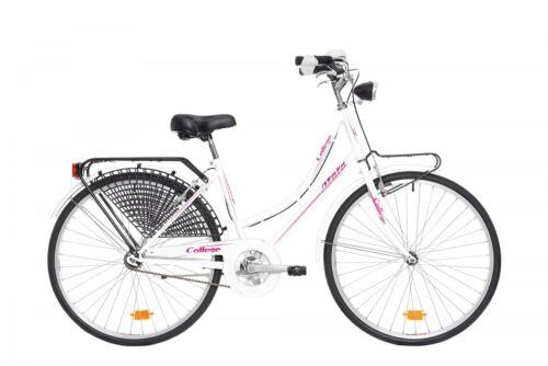 Elektrofahrräder Fahrrad urban style ATALA COLLEGE 26 Damen city Fahrrad aus Spaziergang weiß