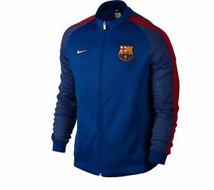 new style 934fa 81483 Nike FC Barcelona LU Jacket 2016 - 2017 Soccer Brand New ...