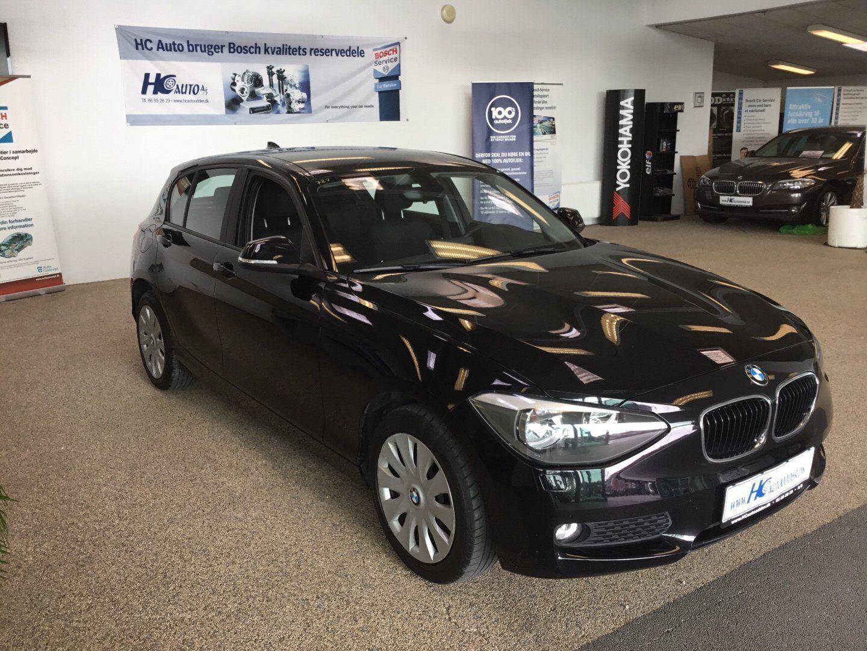 BMW 118d 2,0  5d - 195.000 kr.