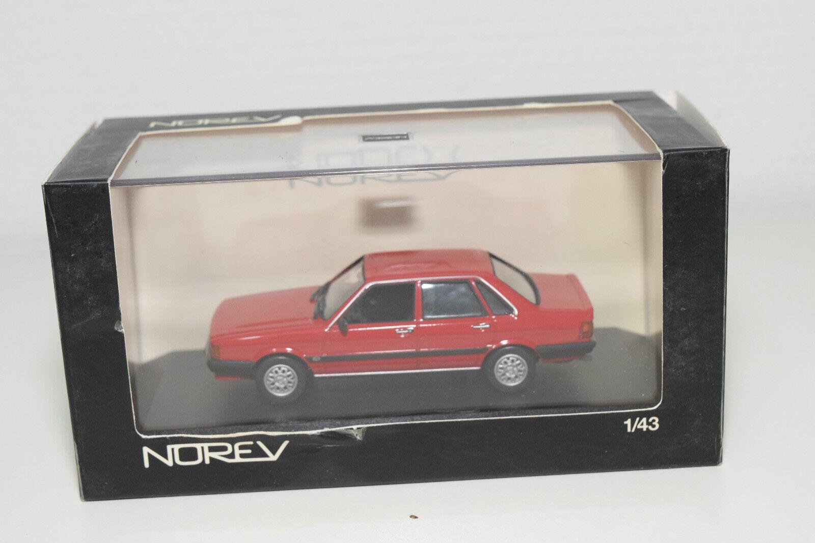 . NOREV 830029 AUDI 80 QUATTRO rojo MINT BOXED RARE SELTEN RARO