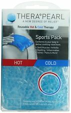 """TheraPearl Sports Pack, Reusable Hot Cold Therapy Pack with Gel Beads, 7.5""""x4.5"""""""
