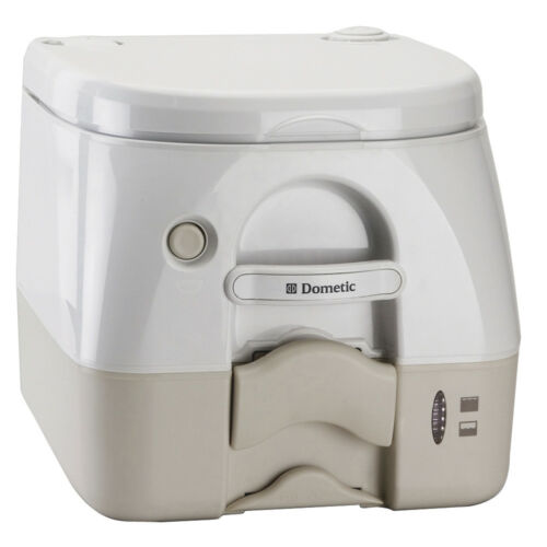 Tan avec crochets environ 9.84 L Dometic Marine Sealand 974 Toilettes Portable 2.6 Gal