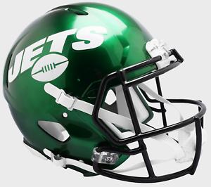 62f8c90bd NEW YORK JETS NFL Riddell SPEED Full Size AUTHENTIC Football Helmet ...