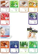 52pcs Natureby Korean Essence Facial Sheet mask Moisture Eye Mask Nose Pack Set