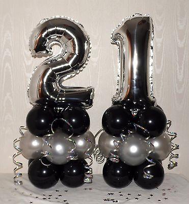 Silver stand up numéro 21 Cadre Photo 21st Anniversaire Cadeau