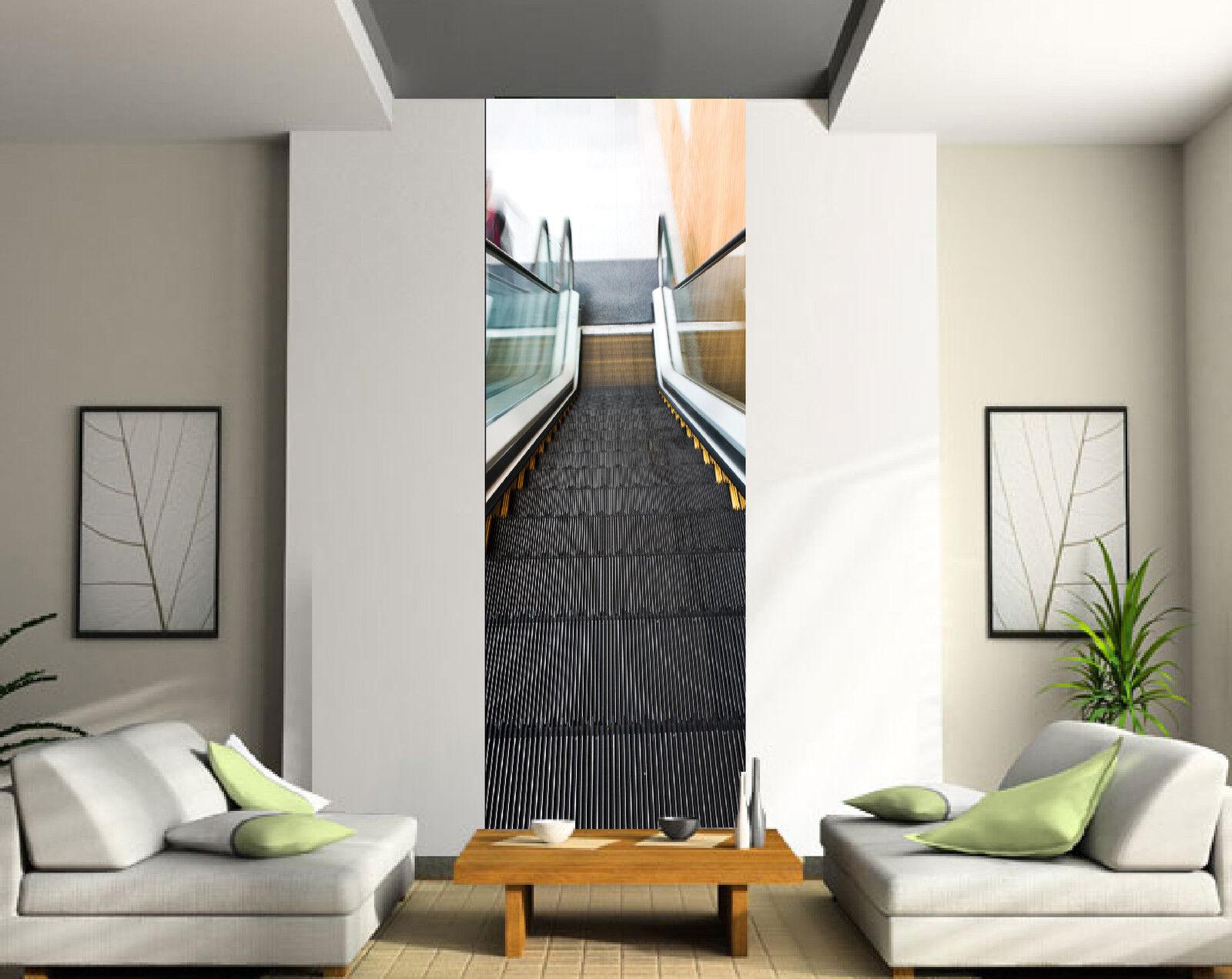Papel pintado decoración engaña ojo ref Único Escalera mecánica ref ojo 2077 3 1f4634