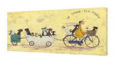 Sam Toft Print The Cat Taxi Service Sketch 30x40cm
