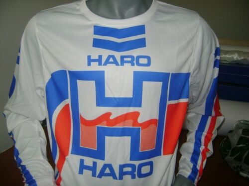 HARO OLD SCHOOL BIKE JERSEY CLASSIC BMX JERSEY RACE BIKE SHIRT BMX RED BLUE XXXL