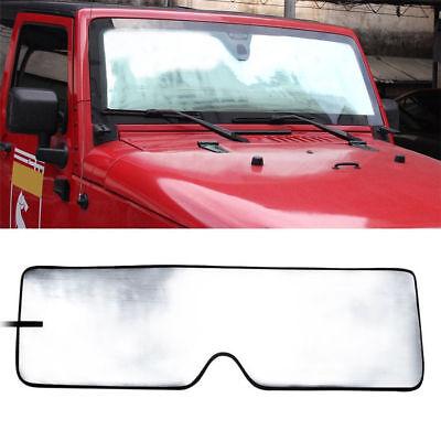Front Windshield Sunshade Sun shade for Jeep Wrangler JK 2007-2017 New