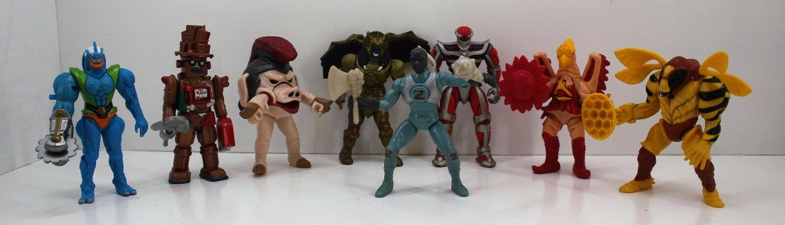 Mighty Morphin Power Rangers cattivo Collezione-Lord ZEDD, mastice, borbottare Bee