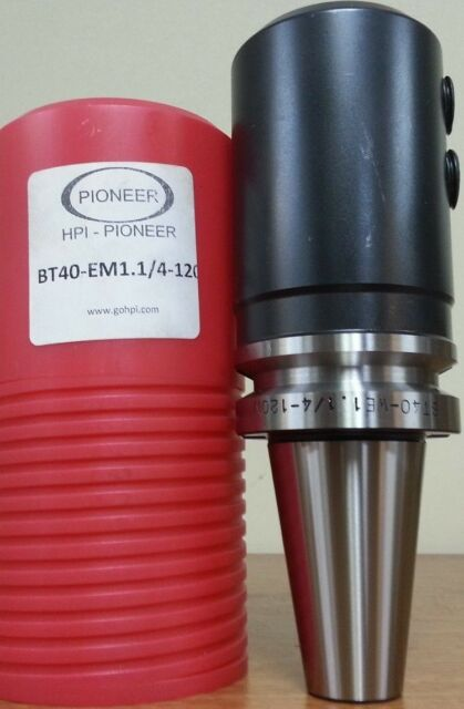 """BT40 End Mill Holder 25-090 1/"""" Bore 3.54/"""" Projection 2.56/"""" Nose Diameter"""