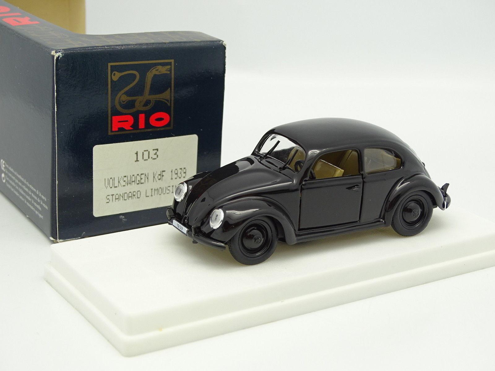 RIO 1 1 1 43 - VW Coccinelle KDF 1939 blacke 12b231