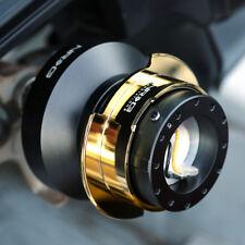 NRG Steering Wheel Short Hub SRK-190H Blue Gen2 Quick Release Ti Chrome Ring