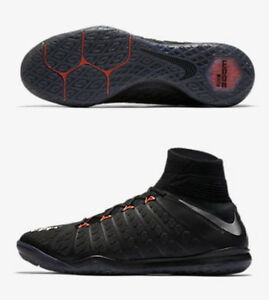 6f859ec4706 NIKE HYPERVENOMX PROXIMO II DINAMIC FIT IC INDOOR SOCCER SHOES Black ...