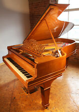 A 1900, Steinway Model B grand piano with a satinwood case
