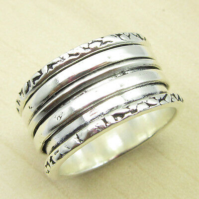 Plain Ring Band, Size US 7.25 ! 925 Silver Plated RICHFEEL Jewelry ONLINE STORE