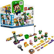 LEGO 71387 Super Mario Adventures with Luigi Starter Course Kit (390 Pieces)