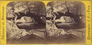 Germania-Schandau-Sassonia-Stereo-Charles-Gaudin-Parigi-Vintage-Albumina-Ca-1865