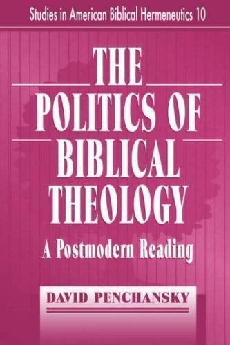 Politics of Biblical Theology: A Postmodern Reading