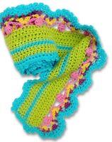 Knitwhits Carmela Scarf Crochet Kit- Yarn & Pattern Included- Sale