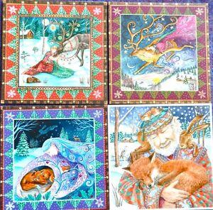 Wendy andrew pagan greetings cards yule christmas animal love fox image is loading wendy andrew pagan greetings cards yule christmas animal m4hsunfo