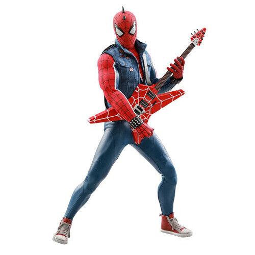 MARVEL  Spideruomo Video gioco SpiderPunk 16 azione cifra 12 VGM32 caliente giocattoli