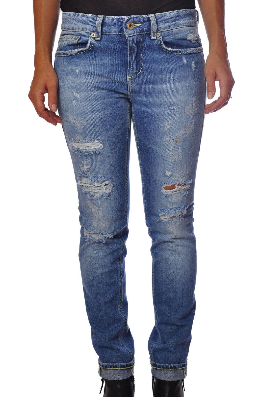Dondup   -  Pantaloni gamba dritta - mujer - Denim - 41023A184027  envío gratis