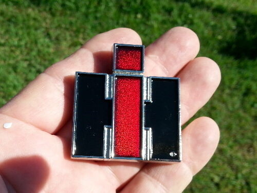 UK ~ INTERNATIONAL EMBLEM Car Pickup Truck Metal Badge Suit SCOUT ETC