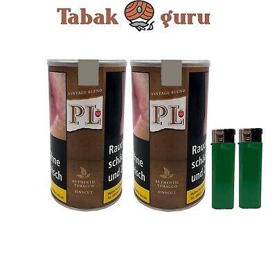 2 X Pl88 Fine Cut Just Tabak Volumentabak 200g Dose Ohne