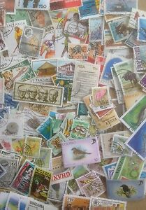 3000 Different British Africa Stamp Collection
