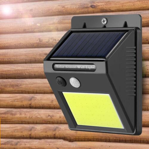 48LED Solar Powered PIR Motion Sensor Wall Security Light Outdoor Lamp KY