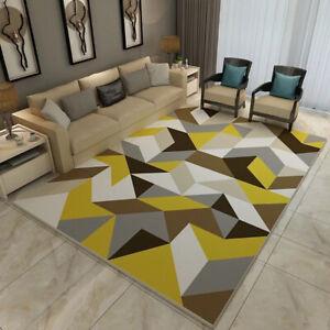 Premium-Large-Floor-Rug-Navy-Blue-Super-Soft-Print-Traditional-Persian-Carpet