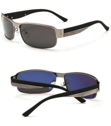 Mens Womens Polarized Sunglasses Vintage Driving Eyewear Shades Travel Fishing