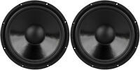 (2) 12 Woofer Speakers.subwoofer Bass Driver.home Audio 8 Ohm.replacement.