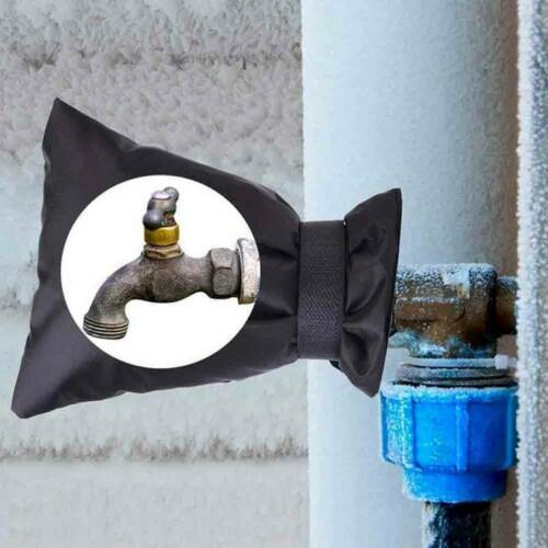 Outdoor Faucet Cover Sock For Freeze Protection Insulations In Winter Ti dbbb